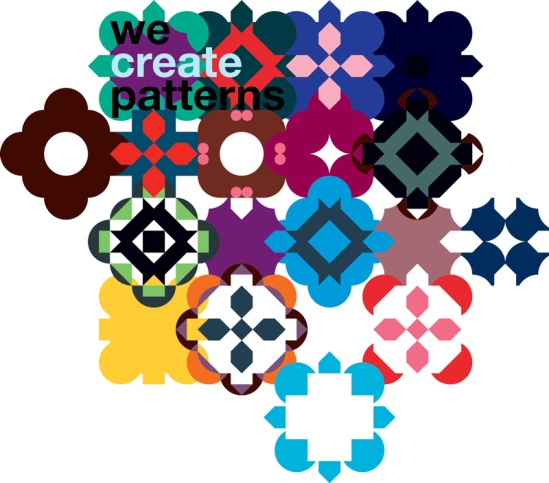 we create patterns..